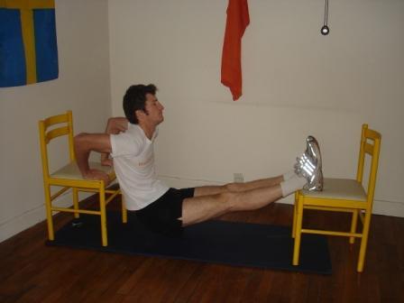 Exercice sportif n 12 le cric de voiture dips mon - Chaise qui se balance ...
