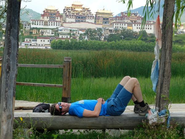 monastere sanghri la chine