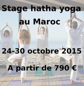 visuel stage yoga maroc