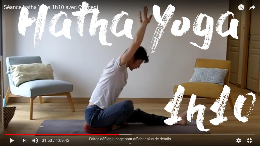 cours hatha yoga 1h10