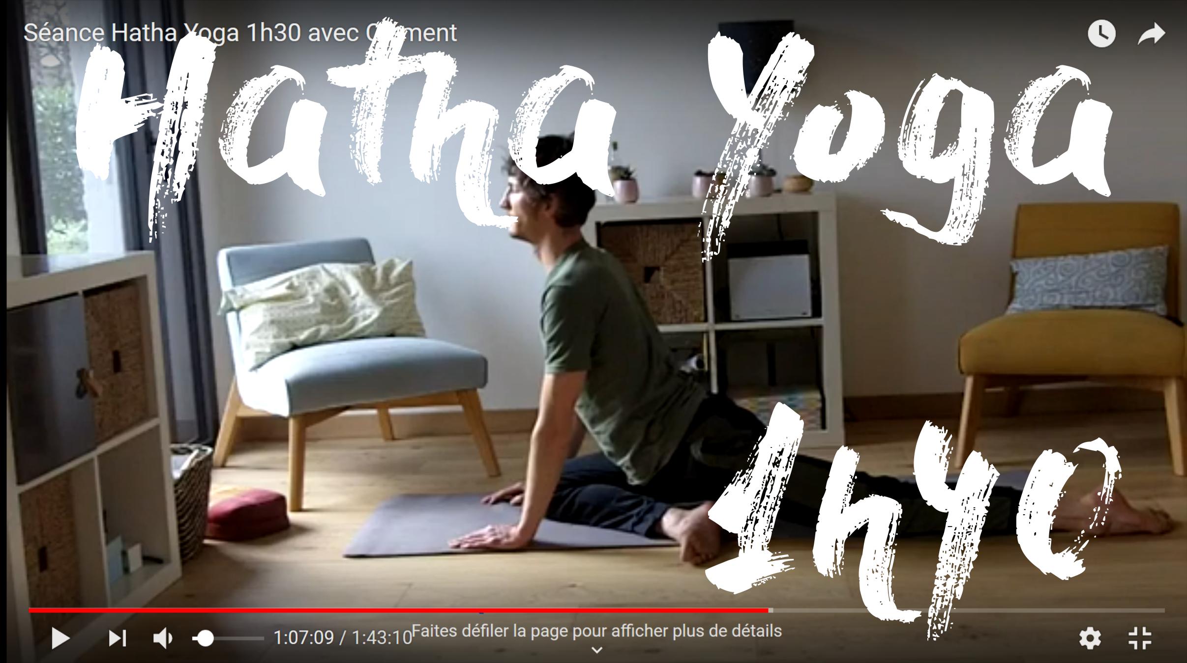 hatha yoga 1h40